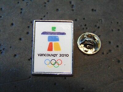 Vancouver 2010 Olympic Winter Games Pin Lapel BC British Columbia Canada