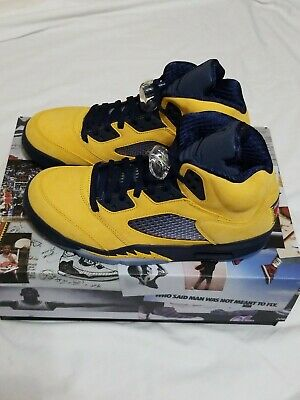 97d833c43d6 NIKE FAB FIVE Authentic Sewn MICHIGAN WOLVERINES Basketball Shorts ...