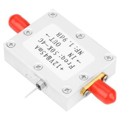 50K-4G RF Amplifier Broadband with Low Noise Amplifier LNA Gain 25DB @ 0.8G inm