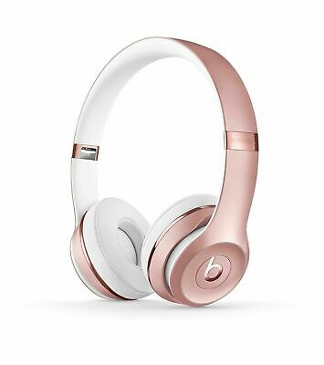 Beats By Dr Dre Wireless Headphones Beats Solo3 - Rose Gold Brand New and Sealed