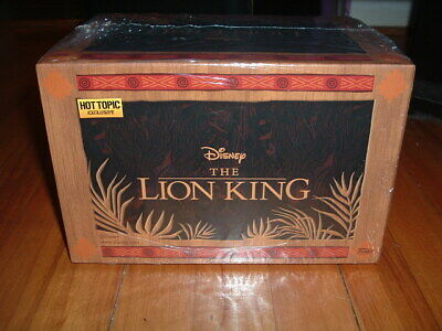 Funko Pop! Disney Treasures Lion King Box~ Sealed~ Hot Topic Exclusive~ Chase~