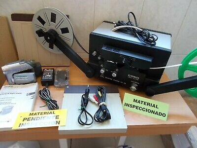 GOKO TC-20 Video System Telecine Player para Telecinar peliculas Super8 +Regalo!