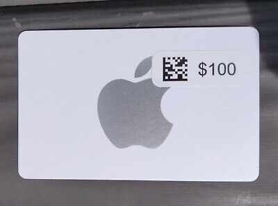 Apple App Store & iTunes physical gift card $100