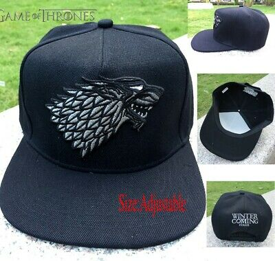 Game of Thrones House Stark Adult Baseball Cap Adjustable Hip Hop Sun hat