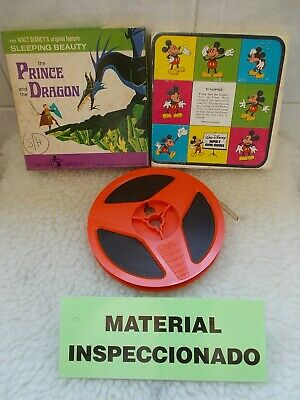 Walt Disney THE PRINCE AND THE DRAGON Film Super8 Color Sound Reel 60mts