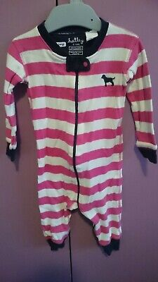 Hatley Girls Zippy / Wondersuit / Onsie (Size 0 / 6-12 months)
