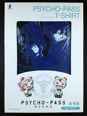 Psycho-Pass Shinya Kogami Kougami T-shirt Black official SK JAPAN New
