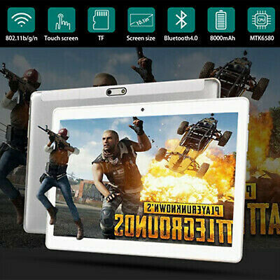 10.1 Zoll 1GB+ 128GB Tablet WiFi/WLAN Tablet PC 10 Core Android 8.0 Dual Kamera