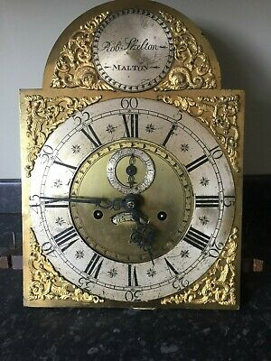 "Longcase Clock Dial & Movement  11"" Dial"