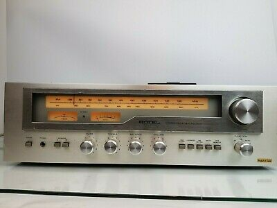 Rotel RX-503 Vintage Hi-Fi Stereo Receiver / RadioTuner Amplifier w/ Phono Stage