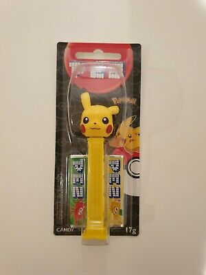 Pikachu Pokemon Pez Dispenser Yellow Collectable Character toy NEW