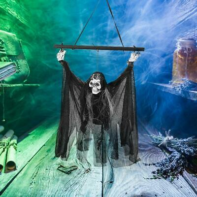 Halloween Hanging Ghost Decor Party Horror Ghost Props Skeleton Voice Control