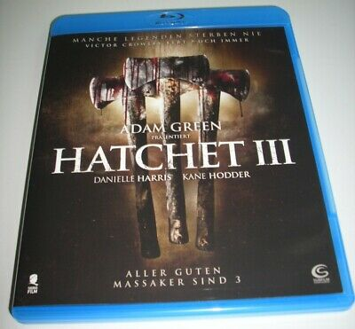 Hatchet III - EXTREM HORROR  /  UNCUT  NEU  Bluray Disc