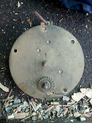 Vintage Unbranded Mechanical Clock Movement. Possibly French (,spares)