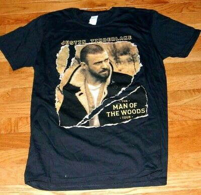 NEW/NO TAGS JUSTIN TIMBERLAKE MAN OF THE WOODS  2018-19 TOUR   T-Shirt  size  S