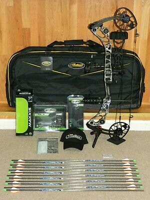 LOADED MATHEWS HALON 32 6 Bow Package - EVII/Black - 60/70, Most Draw  Lengths