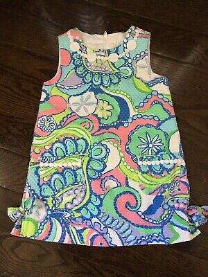Barely Worn Lilly Pulitzer Dress Girl Size 3 Floral