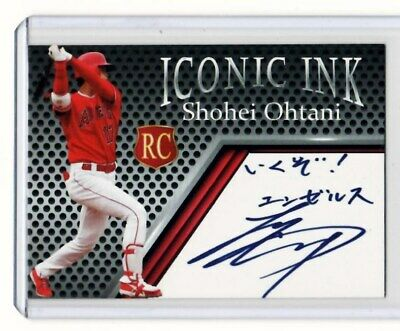 Shohei Ohtani - 2018 Iconic Ink Limited Edition Autograph Card - Only 1,000 Made