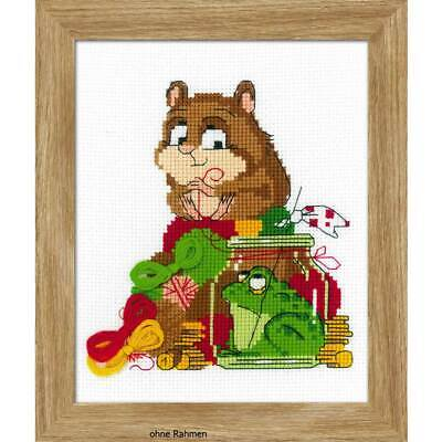 R809 RIOLIS Counted Cross Stitch Kit May Wild Rose