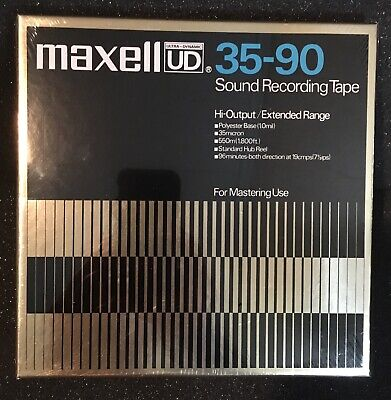 MAXELL UD 35-90 REEL to REEL TAPE BRAND NEW SEALED