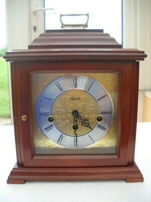 Excellent Westminster Chimes Mantel Clock By Franz Hermle In G.w.o.