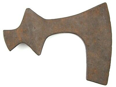 Ancient Rare Authentic Scythian Viking Kievan Rus Iron Battle Axe Chekan 6-9 AD