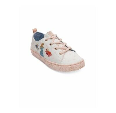 db72431f0bb85 TOMS DISNEY SHOES Youth Size 1.5 Lenny Gus Jaq Mouse Canvas Printed ...