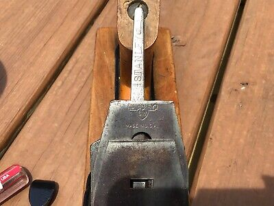 Antique Stanley Bailey No.26 Transitional Wood Plane By Stanley Rule & Level Co.