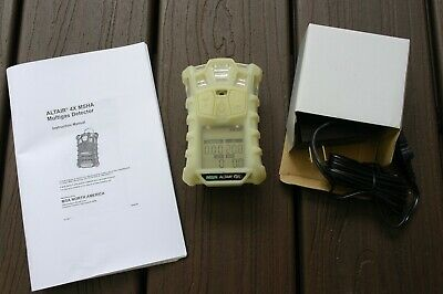 MSA Altair 4X MSHA Approved, Brand New, Warranty, Glow-in The-Dark Case