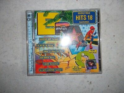 Bravo Hits 18 - 2 CDs Sampler bekannte Songs Backstreet Boys Ricky Martin Oasis