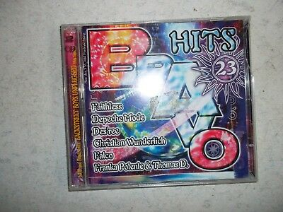 Bravo Hits 23 - 2 CDs Sampler bekannte Songs Robbie Williams Falco Depeche Mode