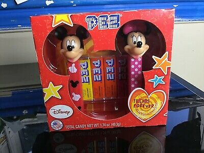 Disney Mickey and Minnie Pez Dispenser Friends Forever Boxed Set 2014