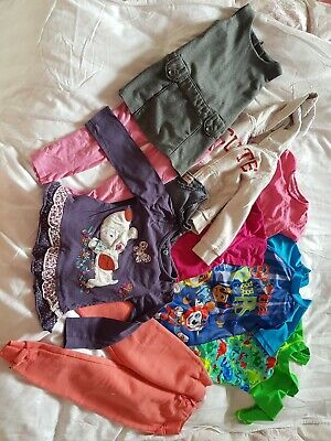Age 3-4 Girls Clothing And Swimwear Bundle Paw Patrol And More