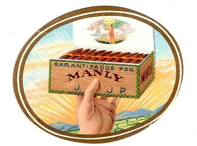 "Old Cigar Label, Tapaclavo ""Manly"" Cabaiguan"