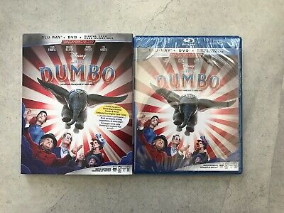 Dumbo (Blu-ray + DVD + Digital, Bilingual)
