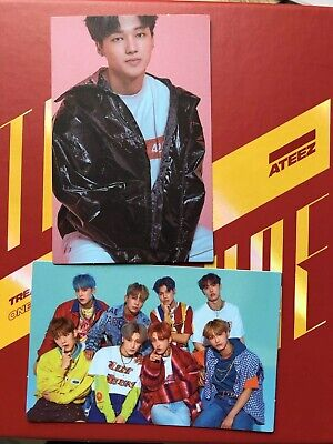 ATEEZ Treasure EP.3 : One To All Photocard WOOYOUNG+GROUP