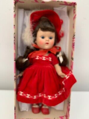 Strung Ginny Doll, Ginger, 1953 in Box! Vintage!
