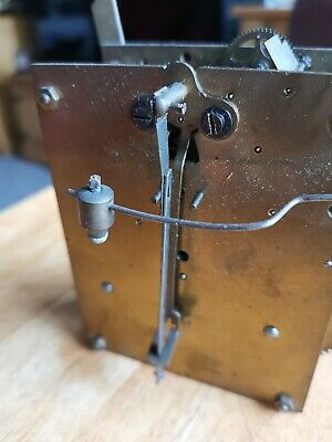 Antique Clock Parts Junghans movement working bracket clock 8day nice