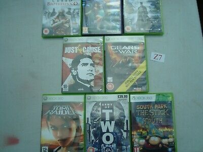 XBOX 360 Games Joblot OF 8 GAMES see pics  (Lot Z7)