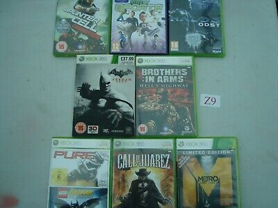 XBOX 360 Games Joblot OF 8 GAMES see pics  (Lot Z9)