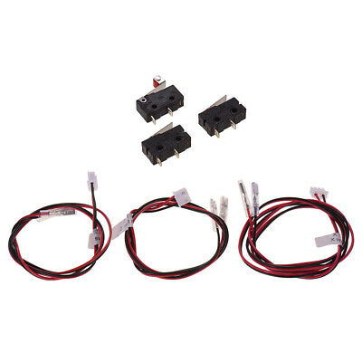 3x Optical End Stop Endstop Limit Switch Cable for 3D Printer Ramps1.4 Reprap S1