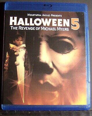 Halloween 5 Blu Ray.Halloween 5 The Revenge Of Michael Myers Brand New Factory Sealed