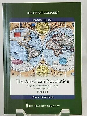 Great Courses The American Revolution Prof. Allen Guelzo Guidebook only