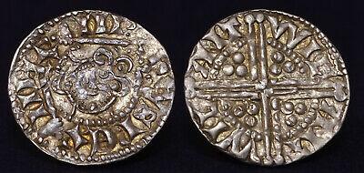 Fantastic Blundered Penny Of Henry Iii. Wilant, Wilant! Two Sceptres! Excellent.