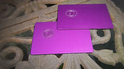 EMF ELECTROMAGNETIC FIELDS Protection Tesla Purple Energy Small Plate