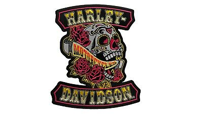 HARLEY DAVIDSON Sugar Rockers Skull PATCH