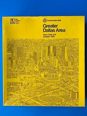 VINTAGE BELL SYSTEM Yellow Pages