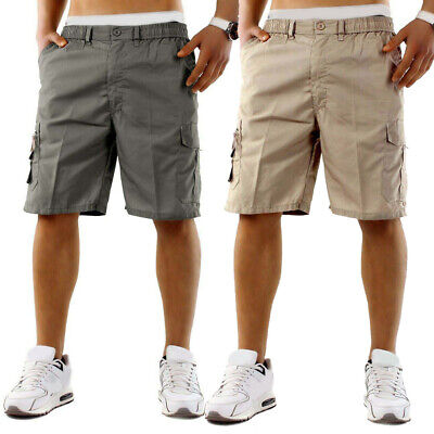 Solid color Shorts Trouser Military Mens Loose fitting Breathable Army Summer