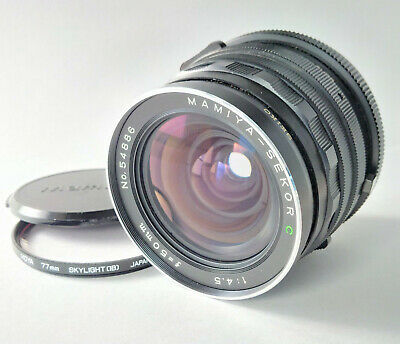 Mamiya-Sekor C 50mm f/4.5 Wide Angle Prime Lens Mamiya RB Fit [A-M Switch Issue]