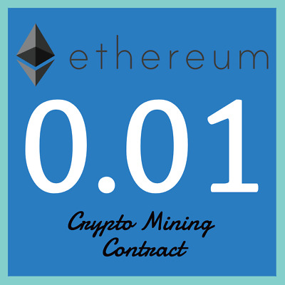 Ethereum 0.01 ETH | MINING CONTRACT | Crypto Currency | Top 2 Coinmarketcap
